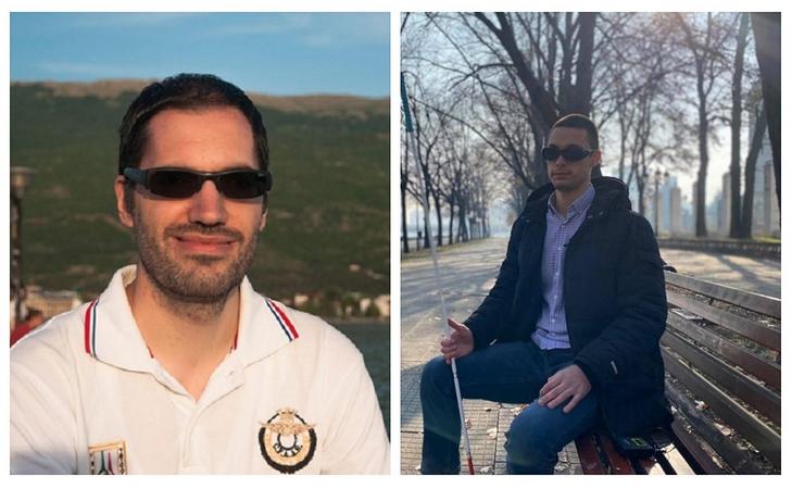 Photographs of Ertay and Kristijan